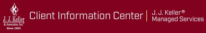 J  J  Keller Client Information Center